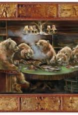 Mason Maloof Bear Print - The Gamblers 30x40