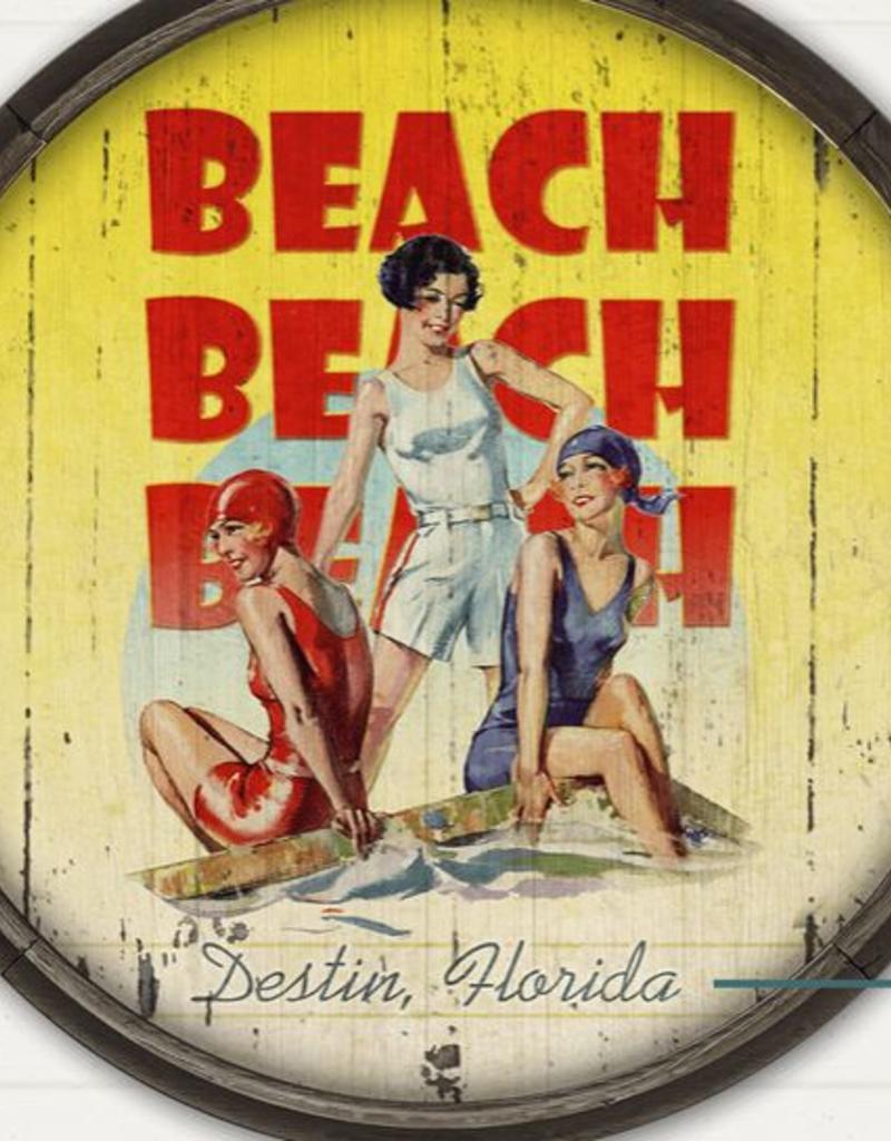 Meissenburg Designs Beach Beach Beach 23x31