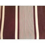 Brown & Cream Striped Duvet Cover Queen