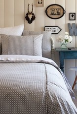 Taylor Linen Charleston Grey King Duvet Cover