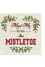 Harman Meet Mistletoe Cocktail Serviette