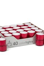 "Abbott 1.5"" Tealight - Red"
