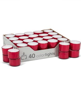 "Abbott 1.5"" Tealight - Red"
