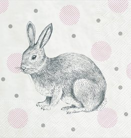 Abbott Bunnies & Dots Lunch Serviettes