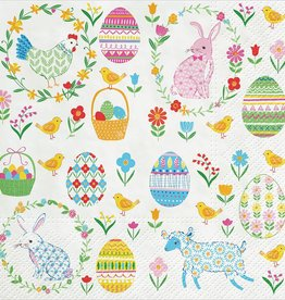 Abbott Easter Everywhere Lunch Serviettes