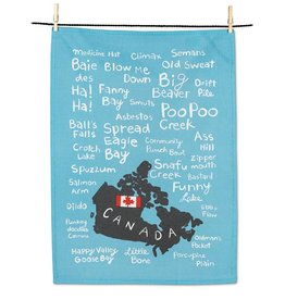 Abbott Funny Names Tea Towel