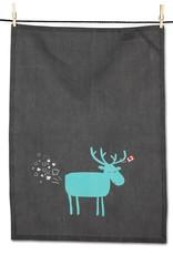 Abbott Party Moose Tea Towel