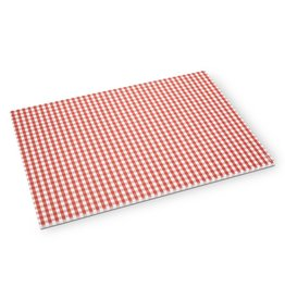 Abbott Red Gingham Paper Placemats