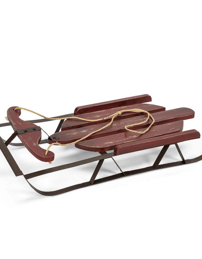 Abbott Red Old Style Sled
