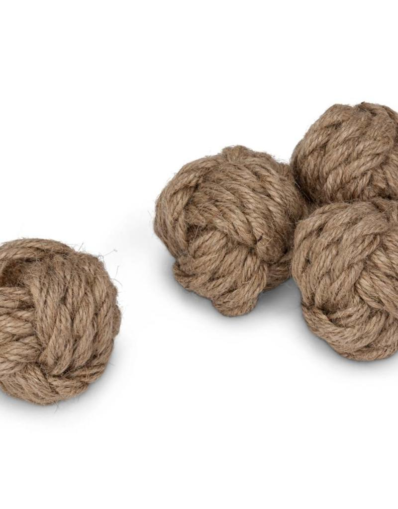 Abbott Small Rope Balls, Maritime, Set of 4