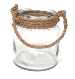 Bacon Basketware Big Jar Rope Handle