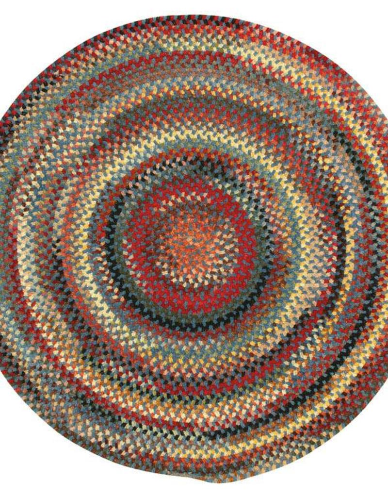 Capel Rugs Cambridge Bluebell Round Rug 4'