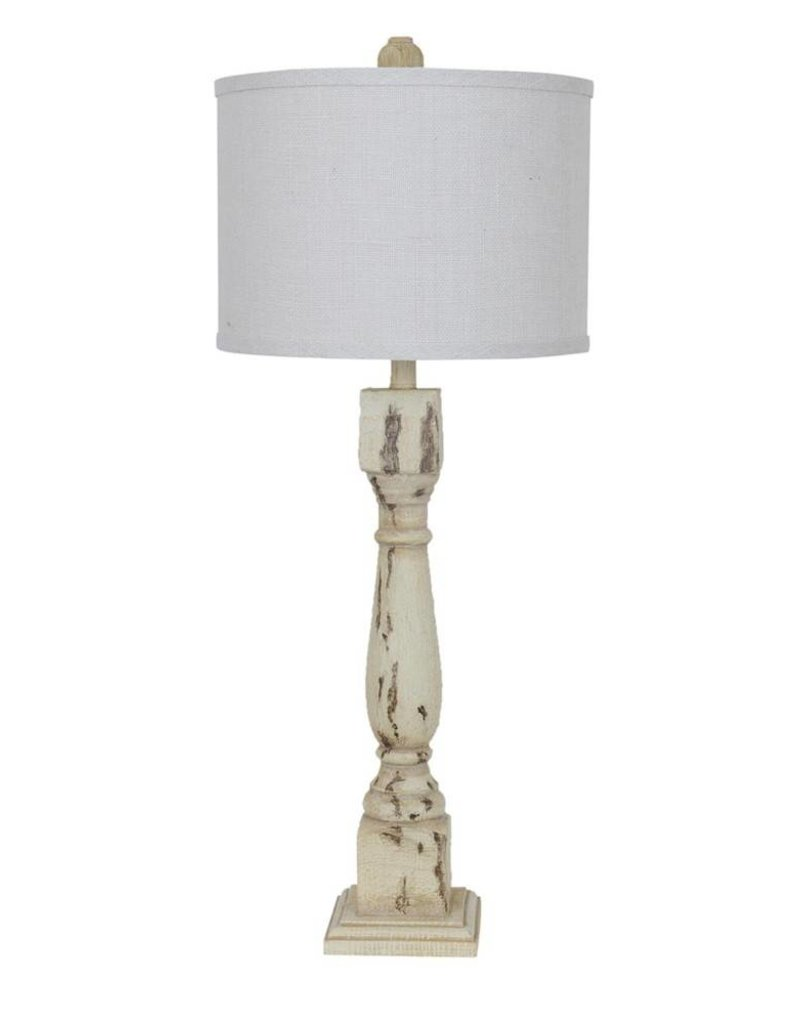 Crestview Antique Column Table Lamp
