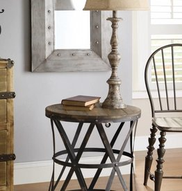 Crestview Heraldine Side Table