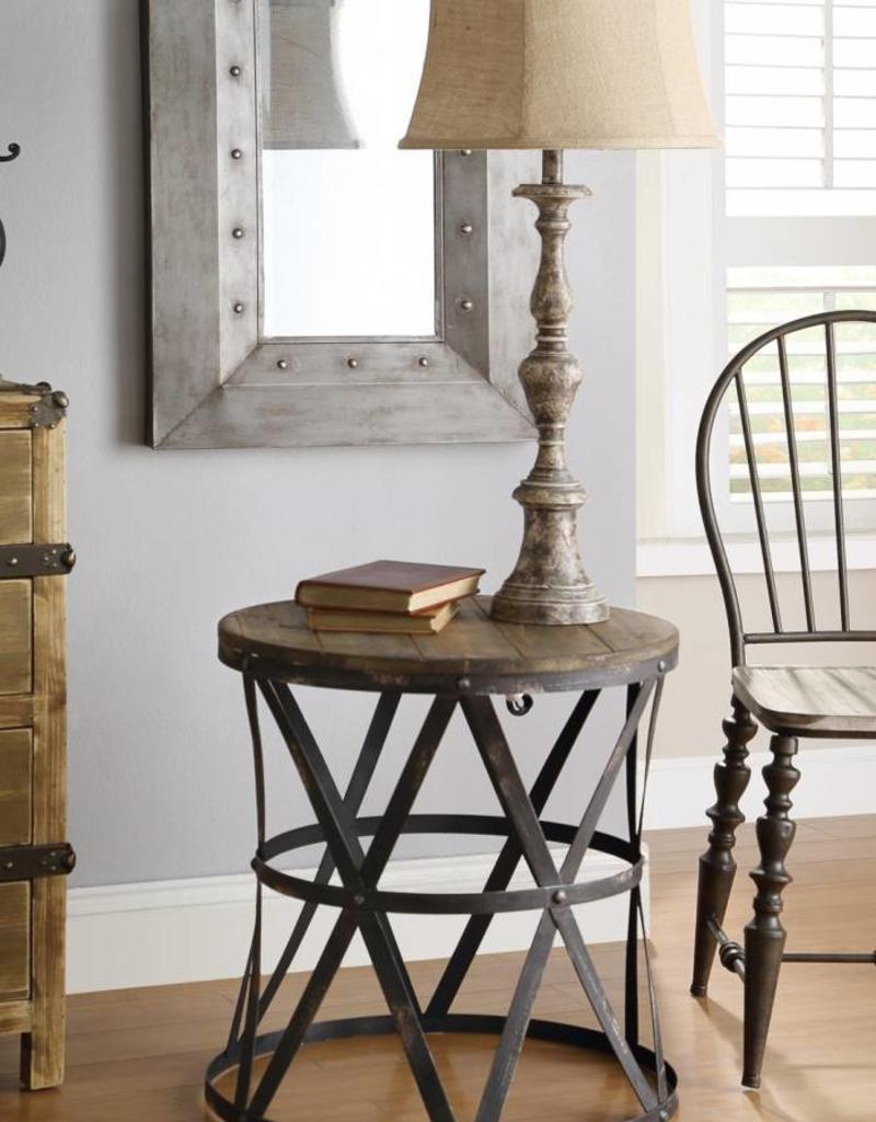 Crestview Heraldine Side Table