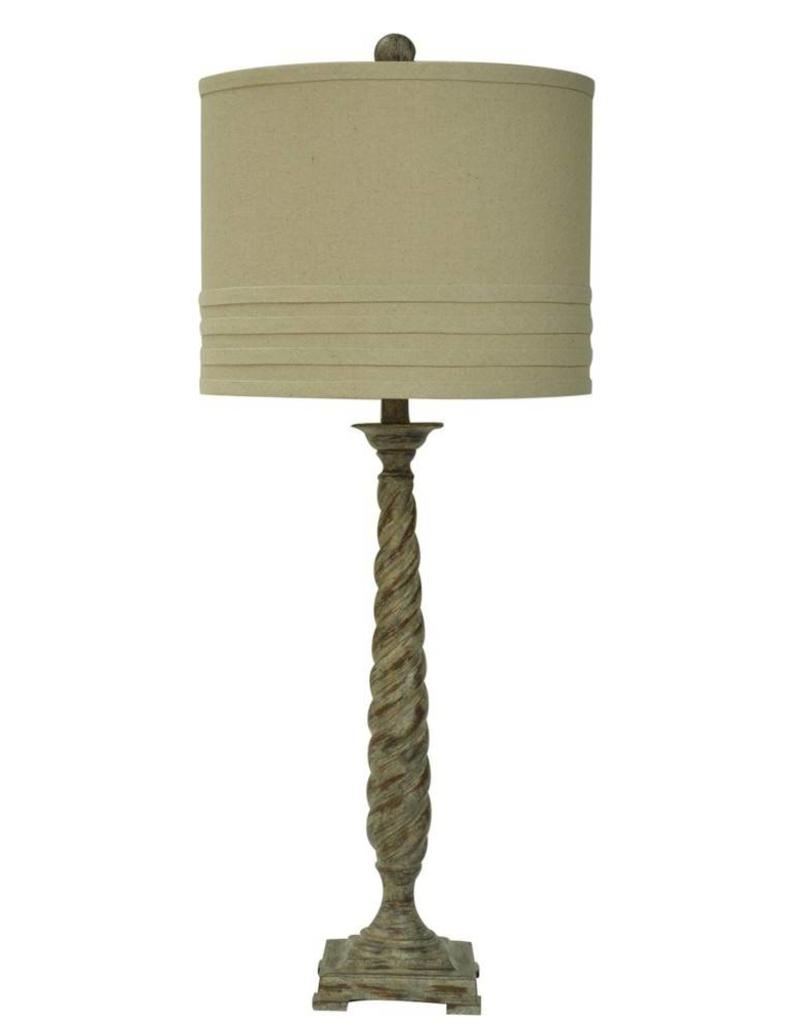 Crestview Twisted Lamp