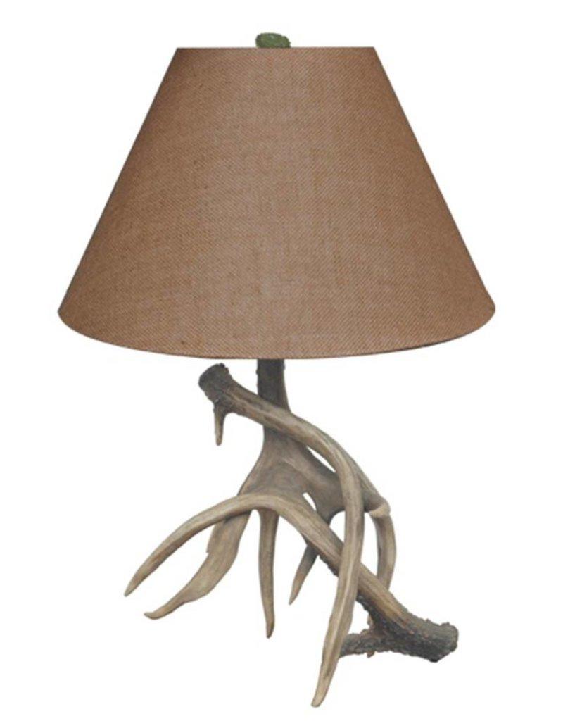 Crestview Resin Antler Table Lamp