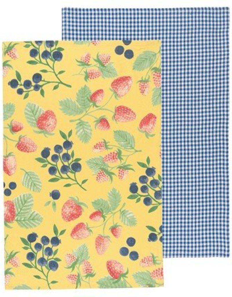 Danica Berry Patch Tea Towels, Set of 2