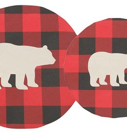 Danica Buffalo Check Bowl Cover, Set of 2