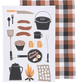 Danica Camp Cookout Dishtowels - Set of 2