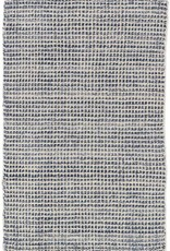 Dash & Albert Homer Blue Wool/Viscose Rug, 5x8