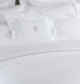 Epicure Linen Duvet Cover - King - Hotel Waffle