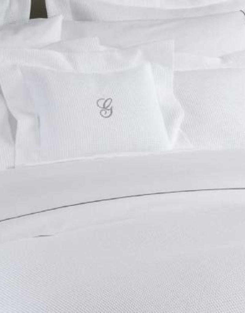 Epicure Linen Duvet Cover - King - Hotel Waffle