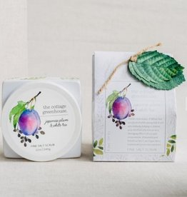 Margot Elena Japanese Plum & White Tea Fine Salt Scrub