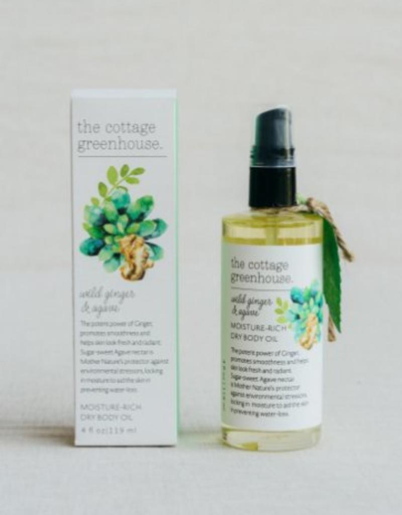 Margot Elena Wild Ginger & Agave Dry Body Oil
