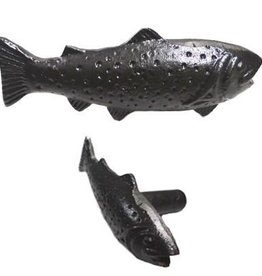 North American Country Home Antique Finish Fish Knob