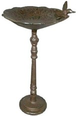 North American Country Home Bird Feeder Cast Iron