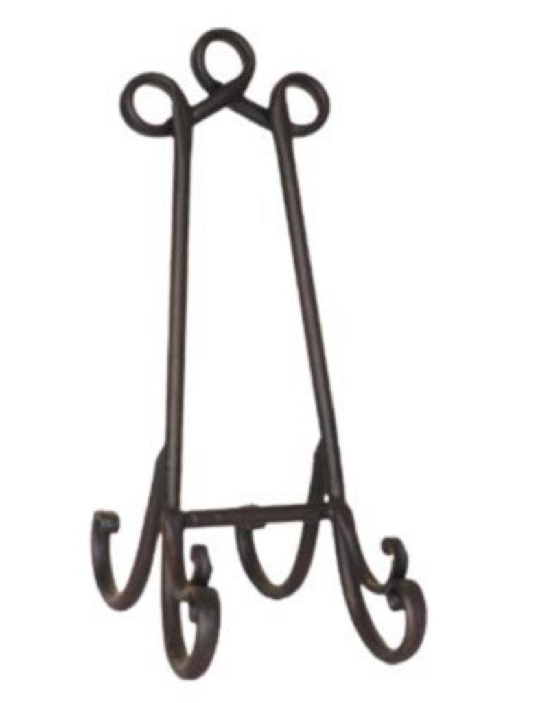 North American Country Home Iron Plate or Book Stand, small