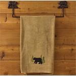 "Cast Bear Towel Bar 24"""