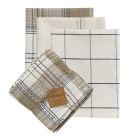 Park Design Day On The Farm 3 Dish Towel & 1 Dish Cloth Set