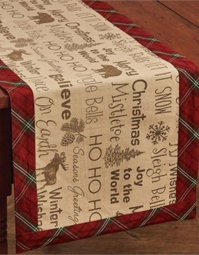Park Design Highland Holiday Table Runner, 13x36