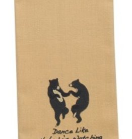 Park Design Tea Towel, Dance Like Nobody's Watching