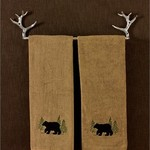 """Park Design Towel Bar - Antler 24"""""""