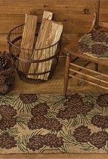 "Park Design Walk in the Wood Hooked Rug 24""x36"""