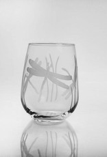 Rolf Glassware Dragonfly - Stemless Wine Glass 17oz