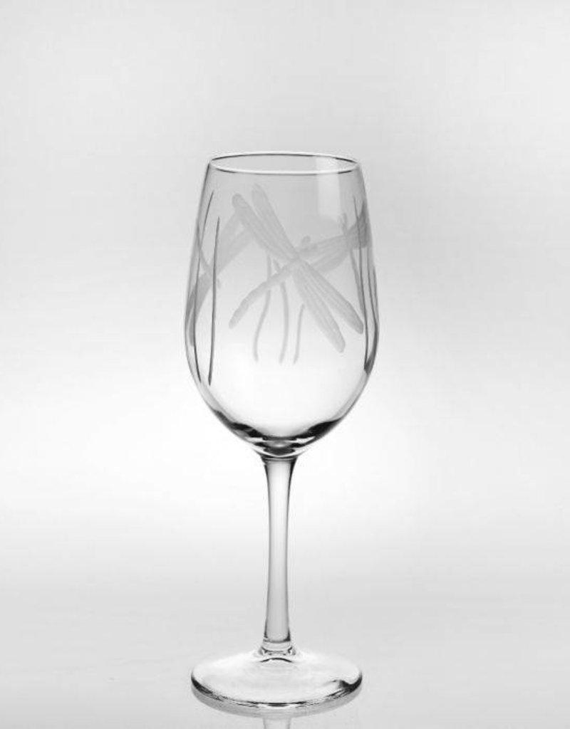 Rolf Glassware Dragonfly - White Wine Glass 12 oz