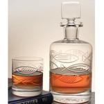 Rolf Glassware Go Fish Whiskey Decanter