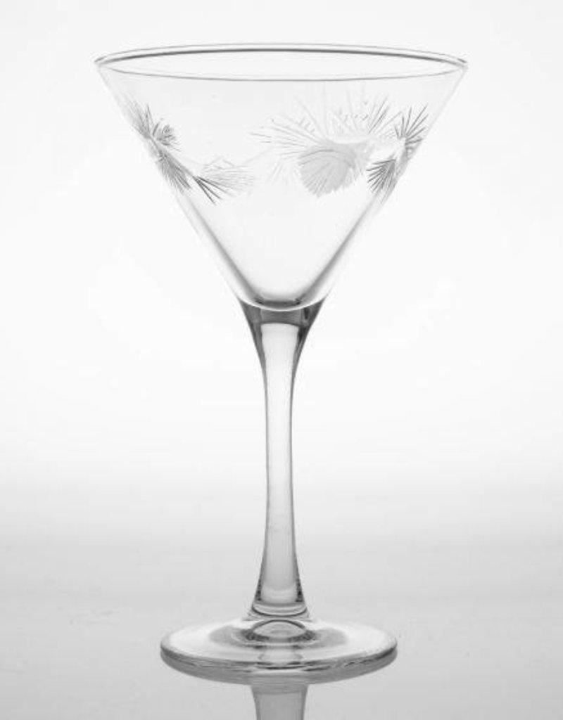Rolf Glassware Icy Pine 10 oz. Martini