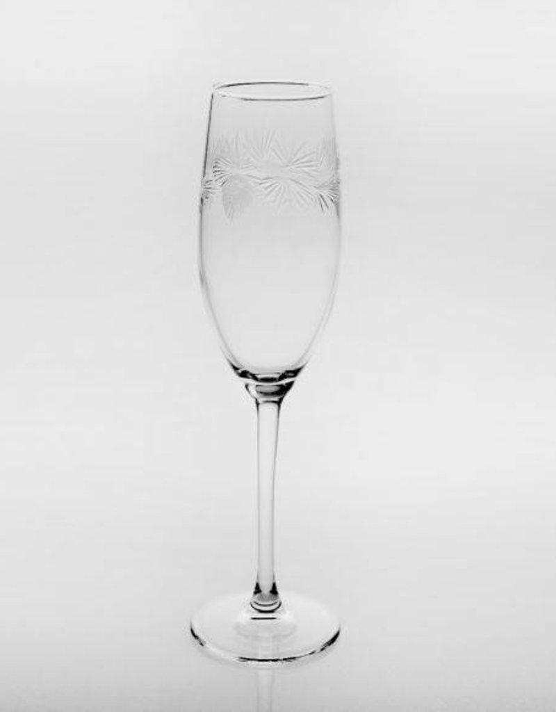 Rolf Glassware Icy Pine 5.75oz Flute