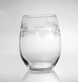 Rolf Glassware Icy Pine White Wine Tumbler 15oz