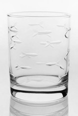 Rolf Glassware School of Fish - Double Old Fashioned 14 oz