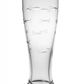 Rolf Glassware School of Fish - Pilsner 16 oz