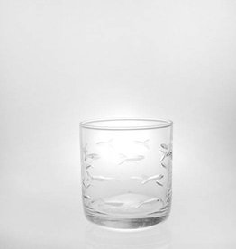 Rolf Glassware School of Fish - Room Tumbler 10 oz