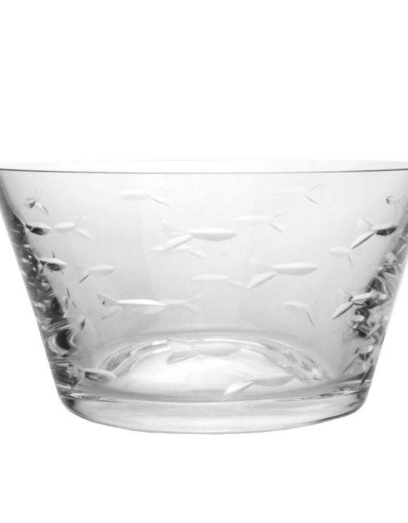 Rolf Glassware School of Fish - Small Bowl