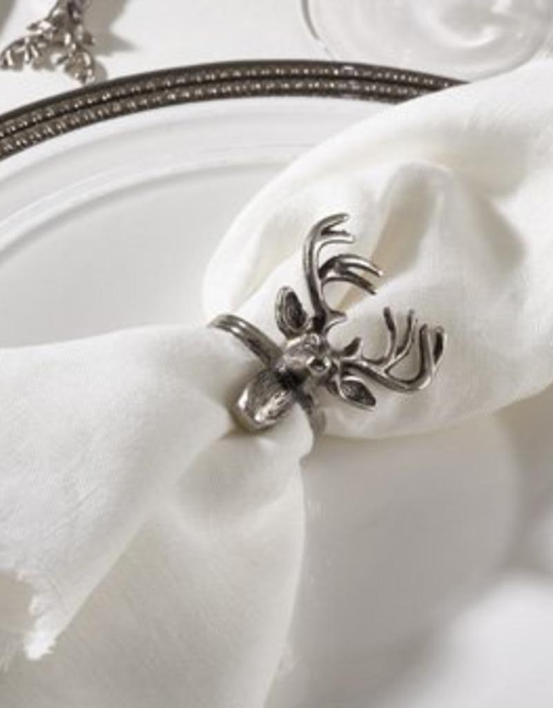 Saro Trading Company Deer Head Napkin Ring