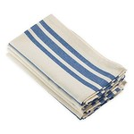 French Blue Striped Napkin